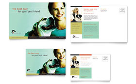 Veterinary Clinic - Postcard Template