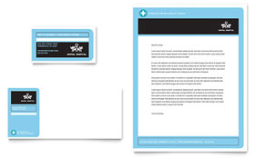 Animal Hospital Letterhead - Word Template & Publisher Template
