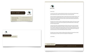 Real Estate Agent & Realtor Letterhead Template