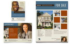 Real Estate Agent & Realtor Flyer & Ad - Microsoft Office Template
