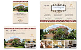 Luxury Real Estate Flyer & Ad - Microsoft Office Template