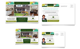 Real Estate Postcard - Microsoft Office Template