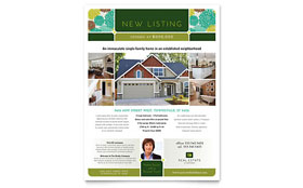 Real Estate Flyer - Microsoft Office Template