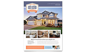 New Property Flyer - Microsoft Office Template