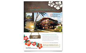 Vacation Rental Flyer - Microsoft Office Template
