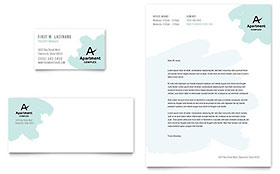 Apartment Letterhead Template