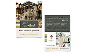 Free Sample Flyer Invitation - Word & Publisher Template