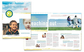 Special Education Brochure - Word Template & Publisher Template