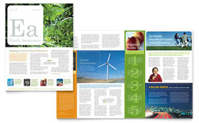 Environmental & Agricultural Non Profit Newsletter - Word Template & Publisher Template