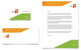 Church Youth Ministry Business Card & Letterhead - Microsoft Office Template