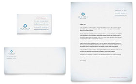 Jeweler & Jewelry Store - Business Card & Letterhead Template