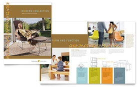 Furniture Store Brochure - Word Template & Publisher Template