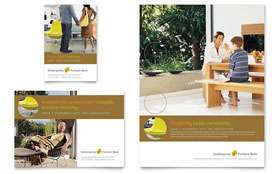 Furniture Store Flyer - Word Template & Publisher Template