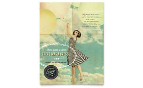 Vintage Clothing Flyer - Microsoft Office Template
