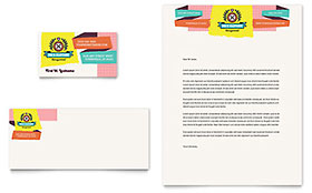 Kids Consignment Shop Business Card Template