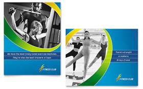 Sports & Health Club Poster Template