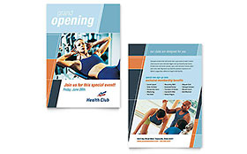 Health & Fitness Gym - Announcement Template