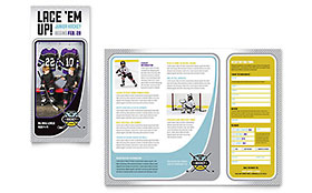 Junior Hockey Camp Brochure - Microsoft Office Template