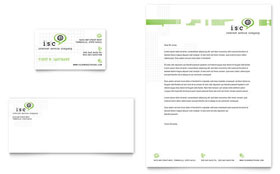 ISP Internet Service Letterhead - Word Template & Publisher Template