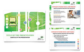 ISP Internet Service Presentation - Microsoft PowerPoint Template