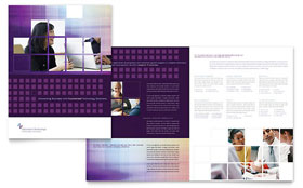 Information Technology Brochure - Word Template & Publisher Template