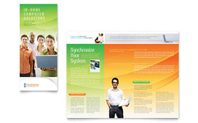 Computer & IT Services Brochure - Microsoft Office Template