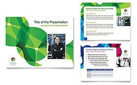 Network Administration PowerPoint Presentation Template