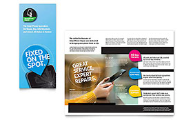 Smartphone Repair Brochure - Office Template