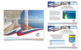 Cruise Travel Presentation - Microsoft PowerPoint Template