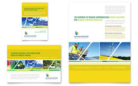 Environmental Conservation Ad Template