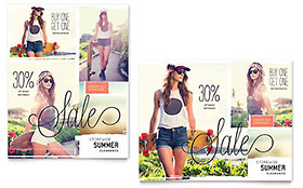 Casual Clothing Poster Template