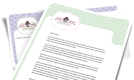 Printable Letterhead Template - Microsoft Word & Publisher
