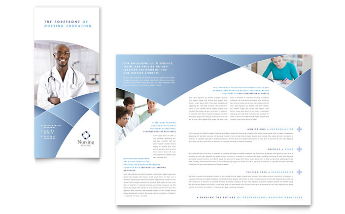 nursing flyer templates