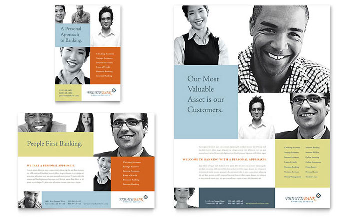 Human Resources - Flyer Templates - Word & Publisher
