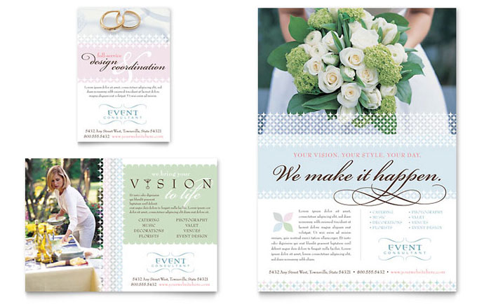 brochure wording bridal business