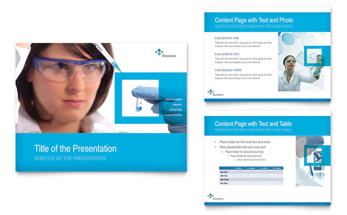 Science & Chemistry PowerPoint Presentation Template - PowerPoint