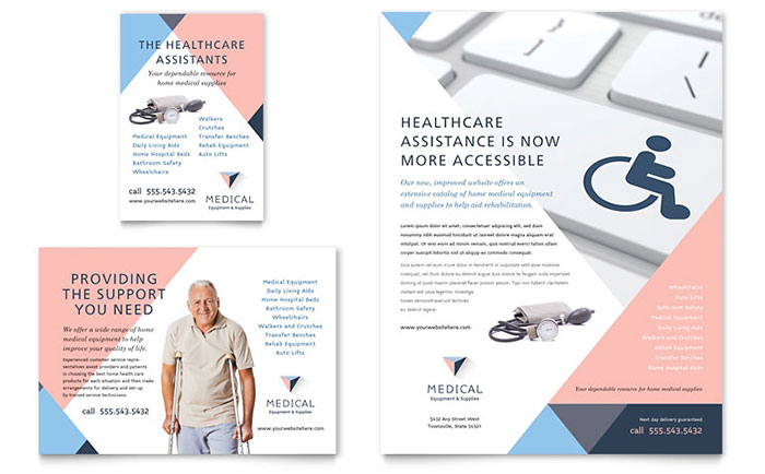 Home Medical Equipment Flyer & Ad Template - Word & Publisher