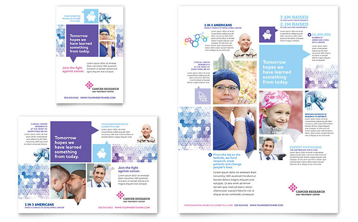 Cancer Treatment Flyer & Ad Template - Word & Publisher
