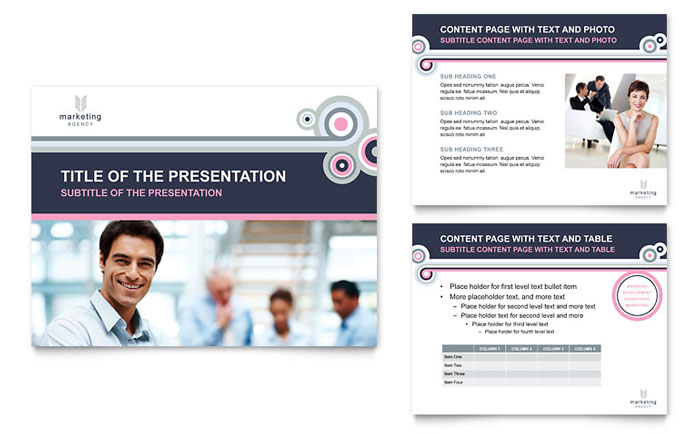 Marketing Agency PowerPoint Presentation Template - PowerPoint