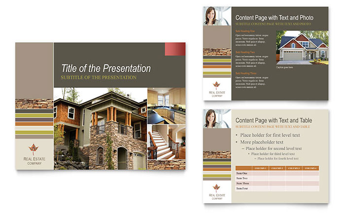 free sample presentation templates