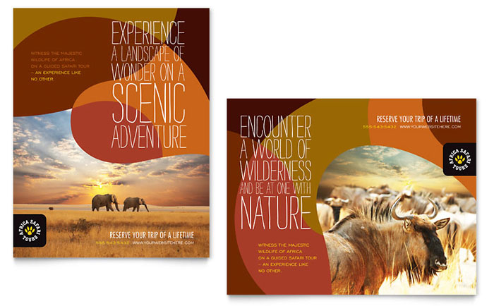 poster templates for publisher
