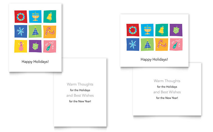 Birthday Card Template Microsoft Word gangcraftnet