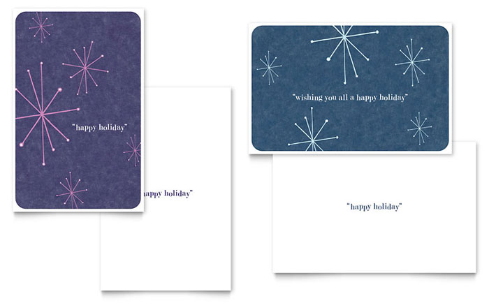 All Templates Greeting Cards Snowflake Wishes