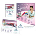 House Cleaning & Maid Services - Flyer & Ad Template