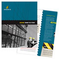Industrial & Commercial Construction - Brochure Template