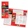 Fire Safety - Brochure Template