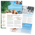 Church Newsletters - Word Templates & Publisher Templates