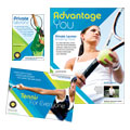 Tennis Club & Camp - Flyer & Ad Template