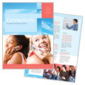 Communications Company - Brochure Template