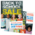 Back to School - Sale Poster Template